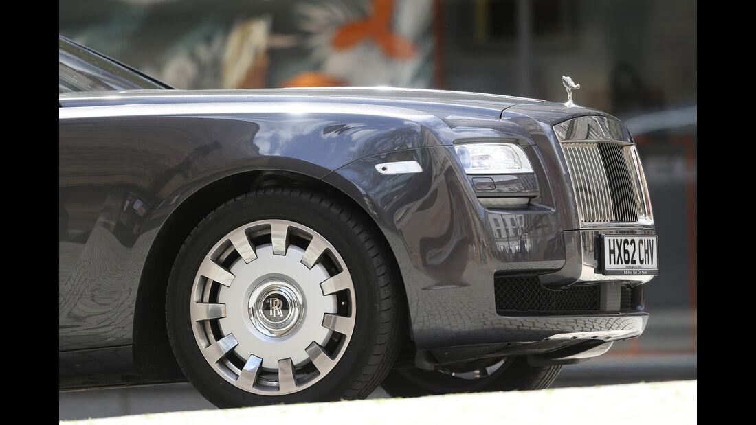 Rolls-Royce Ghost, Schnauze