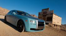 Rolls-Royce Ghost, Seitenansicht, Geisterstadt
