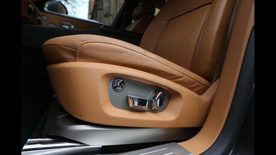Rolls-Royce Ghost, Sitzeinstellung