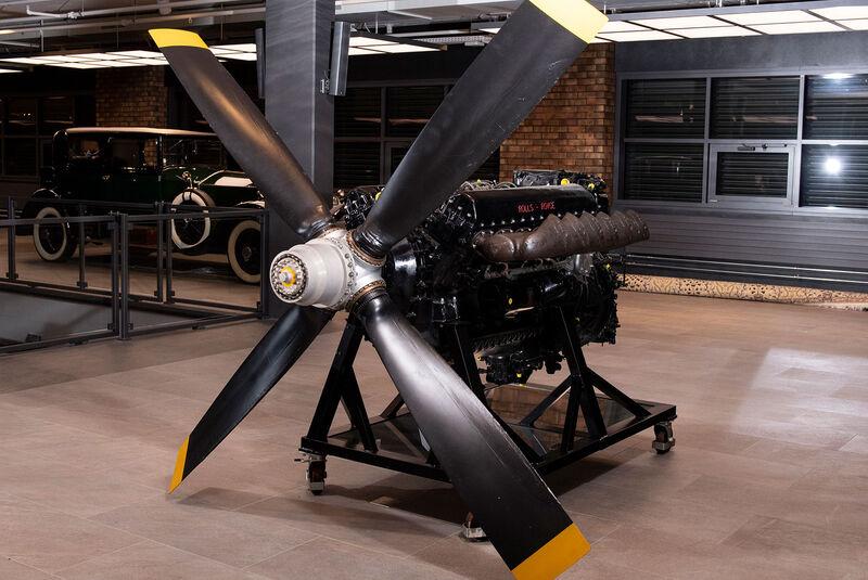 Rolls-Royce Merlin Mk 113 AV 12 Aero Engine (1946)