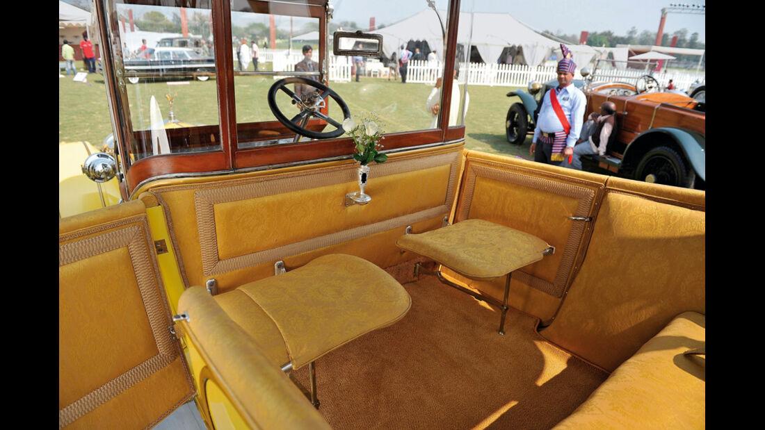 Rolls Royce, Oltimer, Thronwagen, Innenraum