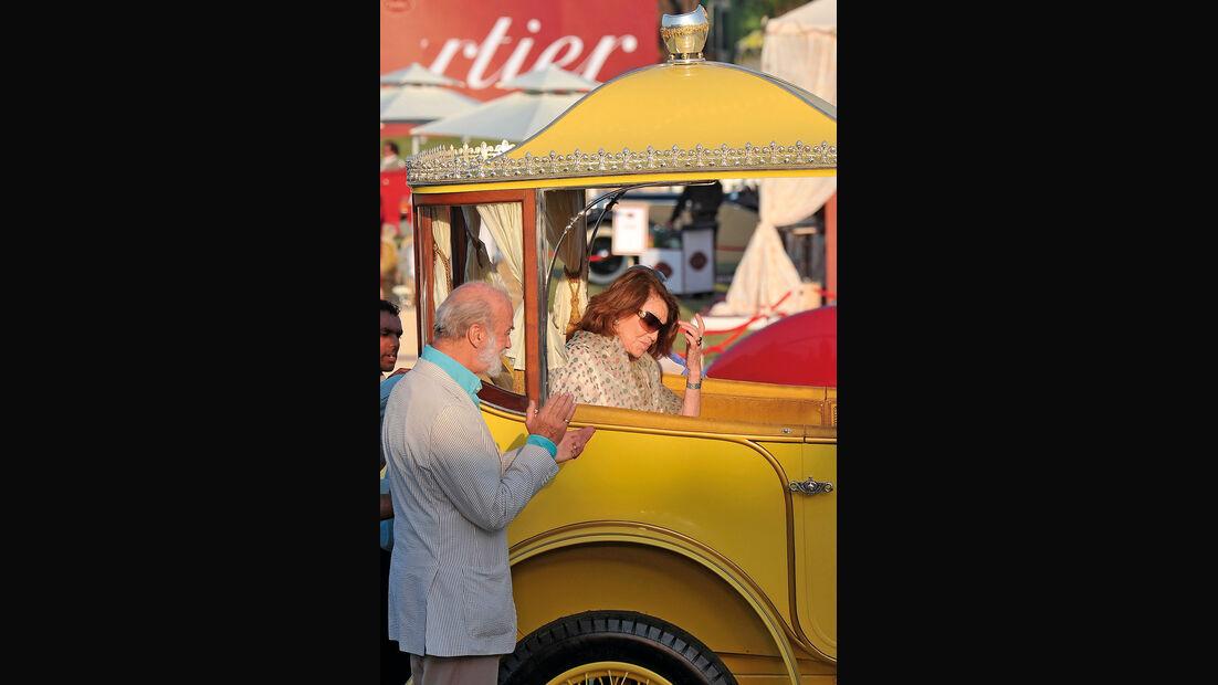Rolls Royce, Oltimer, Thronwagen, Prinz Michael von Kent, Prinzessin Ezra von Hyderabad