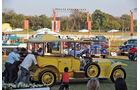 Rolls Royce, Oltimer, Thronwagen, anschieben