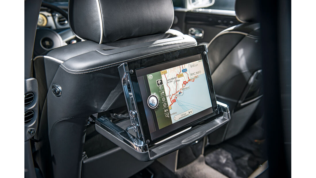 Rolls-Royce Phantom, Bildschirm, Infotainment
