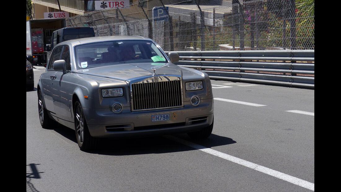 Rolls Royce Phantom - Car Spotting - Formel 1 - GP Monaco - 25. Mai 2014