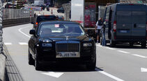 Rolls Royce Phantom - Car Spotting - Formel 1 - GP Monaco - 25. Mai 2014