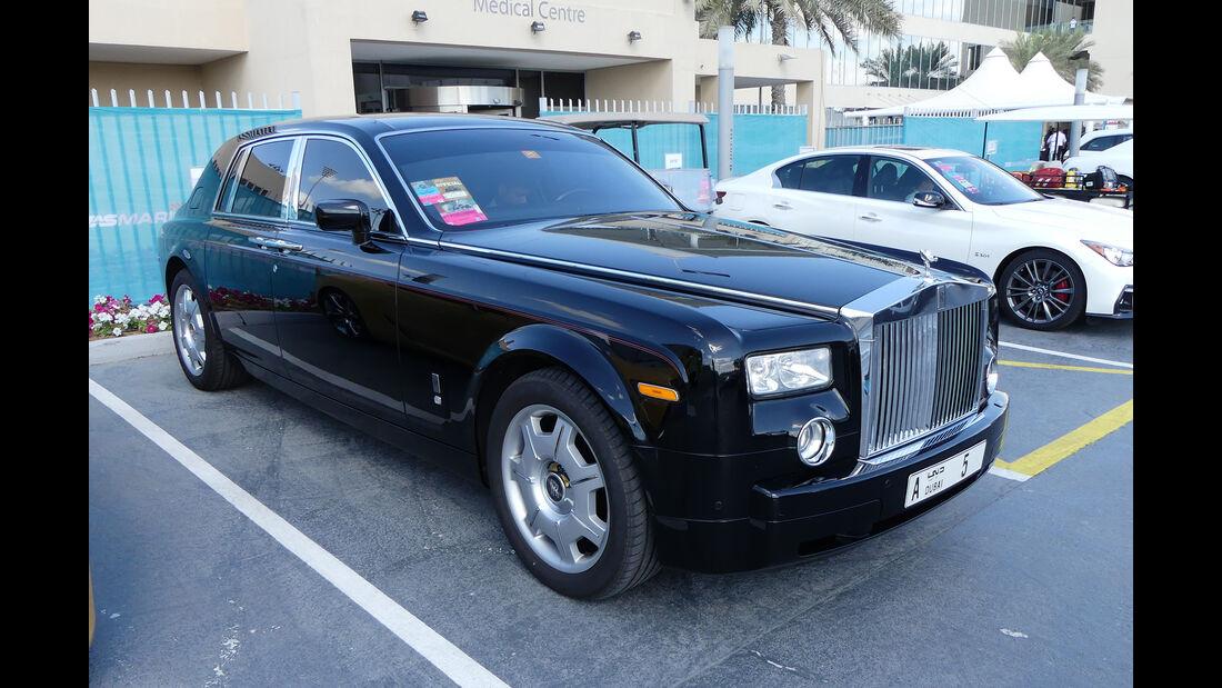 Rolls Royce Phantom - Carspotting - Abu Dhabi 2017
