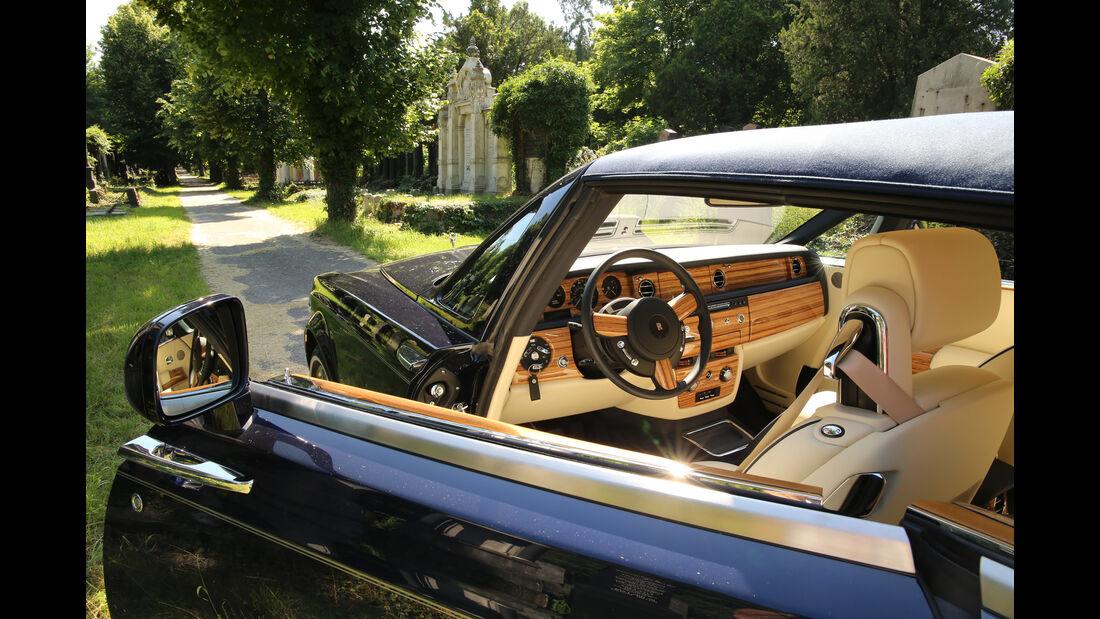 Rolls-Royce Phantom Drophead Cabrio, Wien, Zentralfriedhof