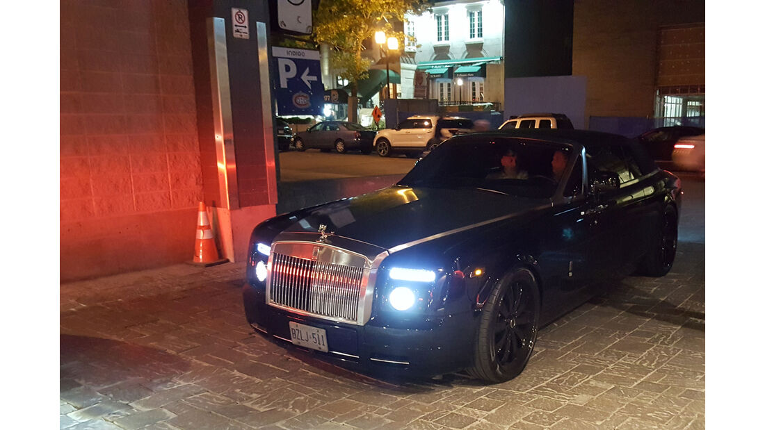 Rolls-Royce Phantom Drophead Coupé - Carspotting - GP Kanada 2016 - Montreal