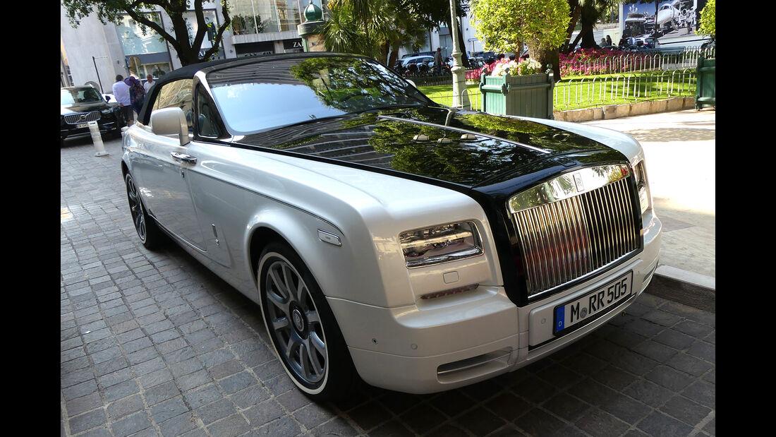 Rolls Royce Phantom Drophead Coupé - Carspotting - GP Monaco 2017
