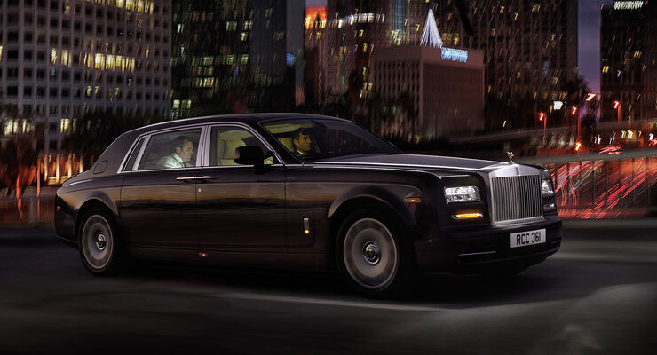 Rolls Royce Phantom EWB LWB Auto China 2012