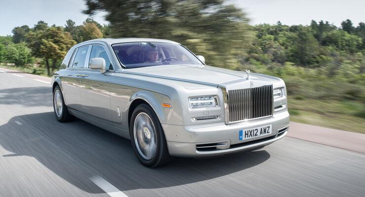 Rolls-Royce Phantom, Frontansicht