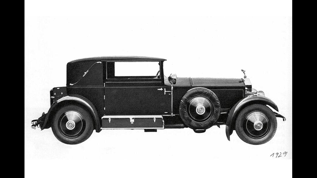 Rolls Royce Phantom I Sportsman Coupe 1929