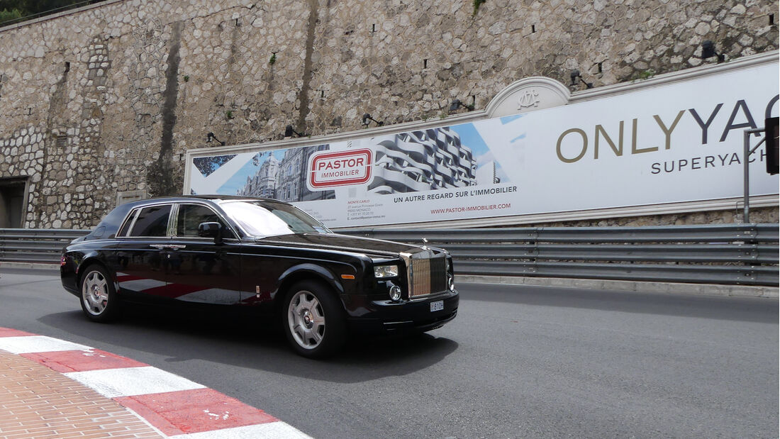 Rolls Royce Phantom - Luxusautos - Formel 1 - GP Monaco - 21. Mai 2021