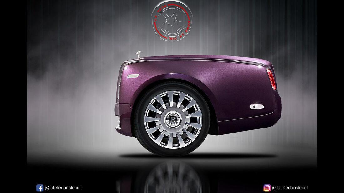 Rolls-Royce Phantom Retusche