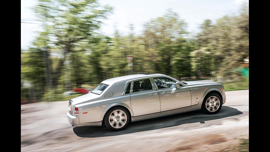 Rolls-Royce Phantom, Seitenansicht