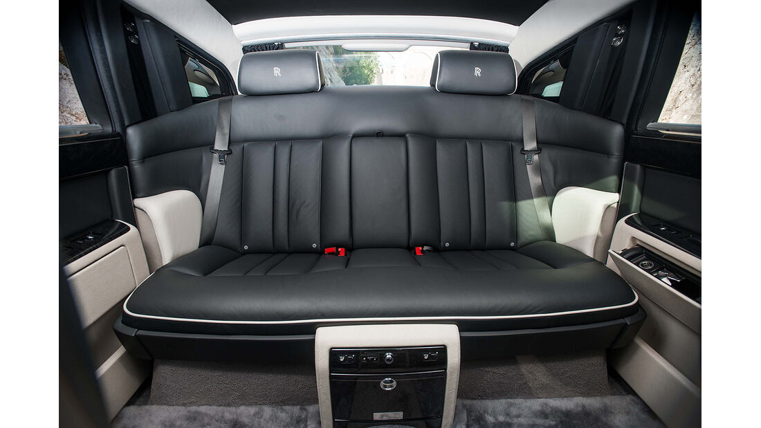Rolls Royce Phantom Serie II, Fond, Rückbank