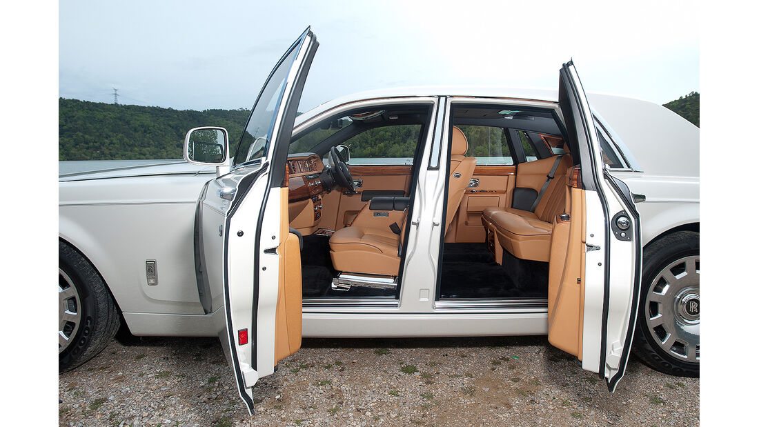 Rolls Royce Phantom Serie II, Türen
