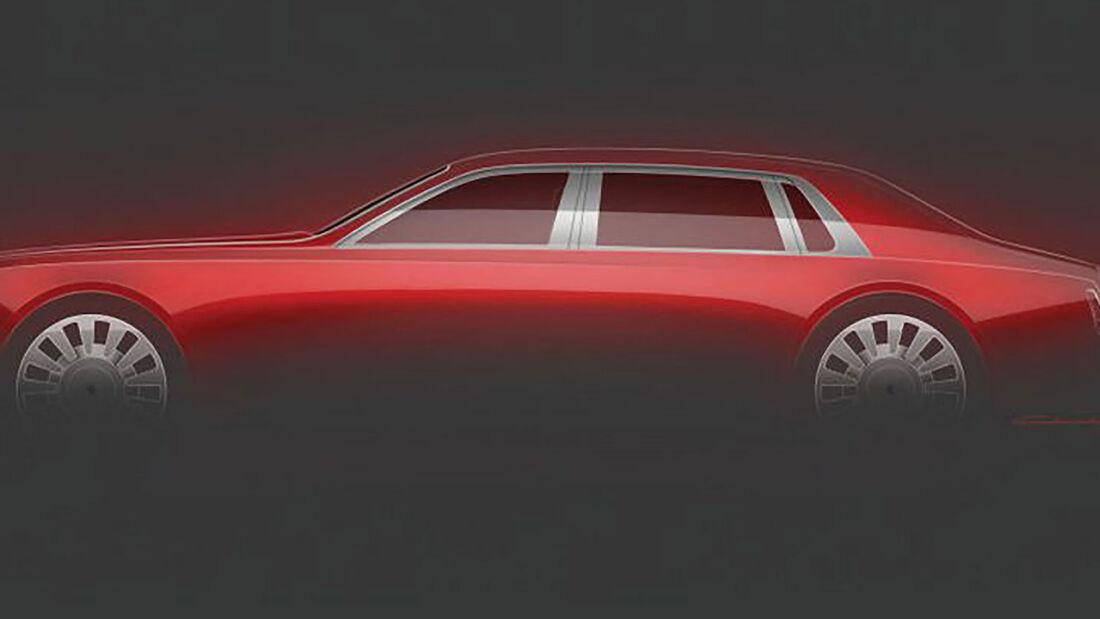 Rolls-Royce Phantom Unikat zum 115. Geburtstag
