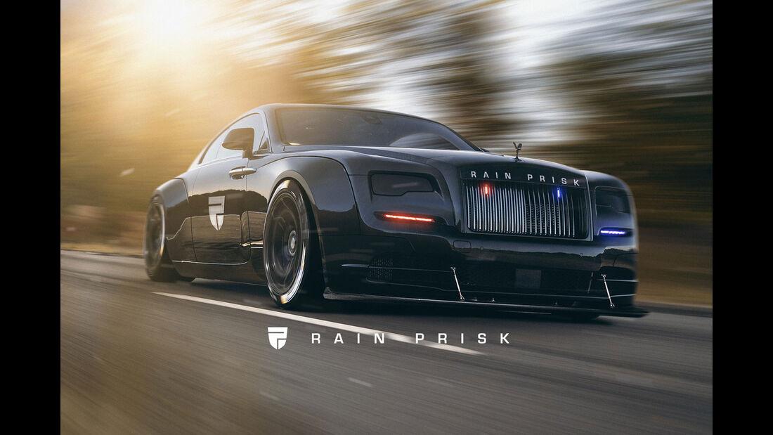 Rolls Royce - Polizei-Auto - Design-Konzept - Grafikkünstler Rain Prisk