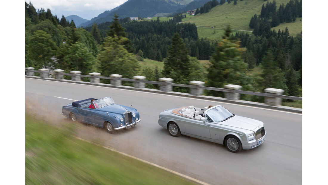 Rolls-Royce Silver Cloud I, Phantom Series II Drophead Coupe