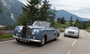 Rolls-Royce Silver Cloud I, Phantom Series II Drophead Coupe