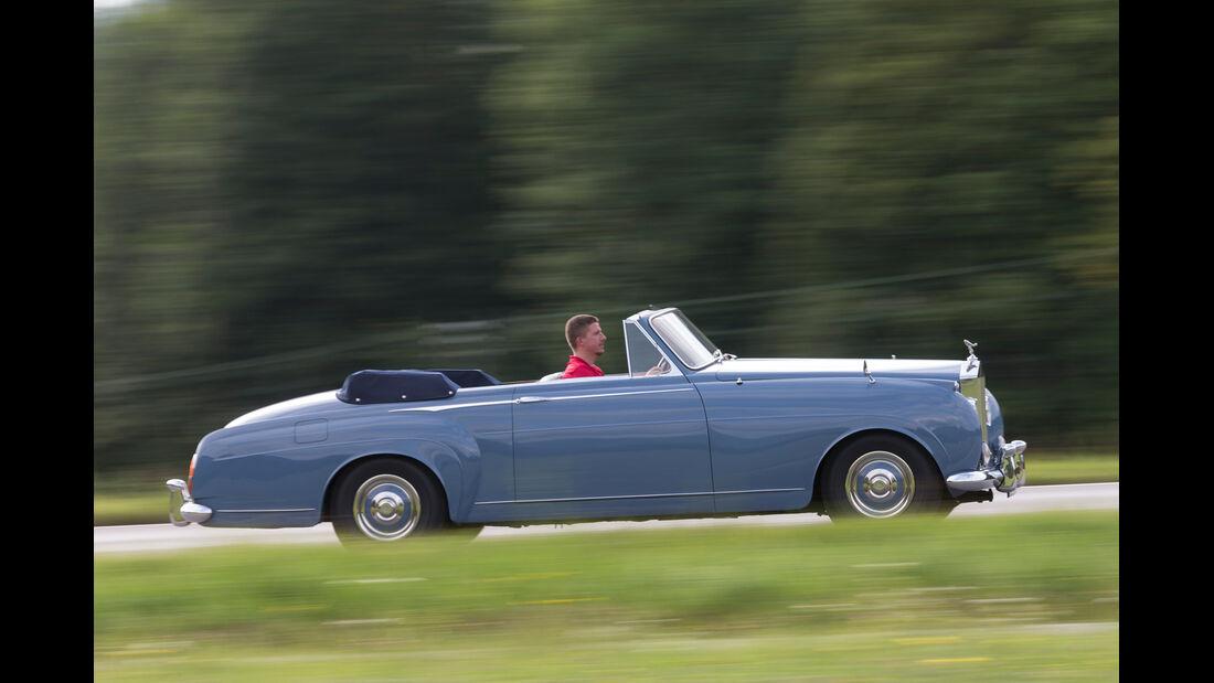 Rolls-Royce Silver Cloud I, Seitenansicht