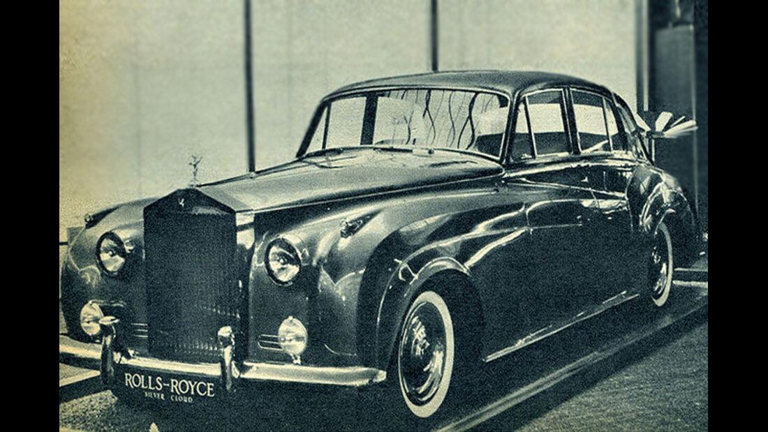 Rolls, Royce, Silver Cloud, IAA 1959