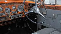 Rolls-Royce Silver Cloud II, Cockpit, Lenkrad