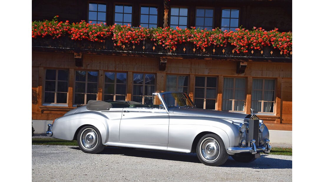 Rolls-Royce Silver Cloud II Convertible Mulliner Park Ward