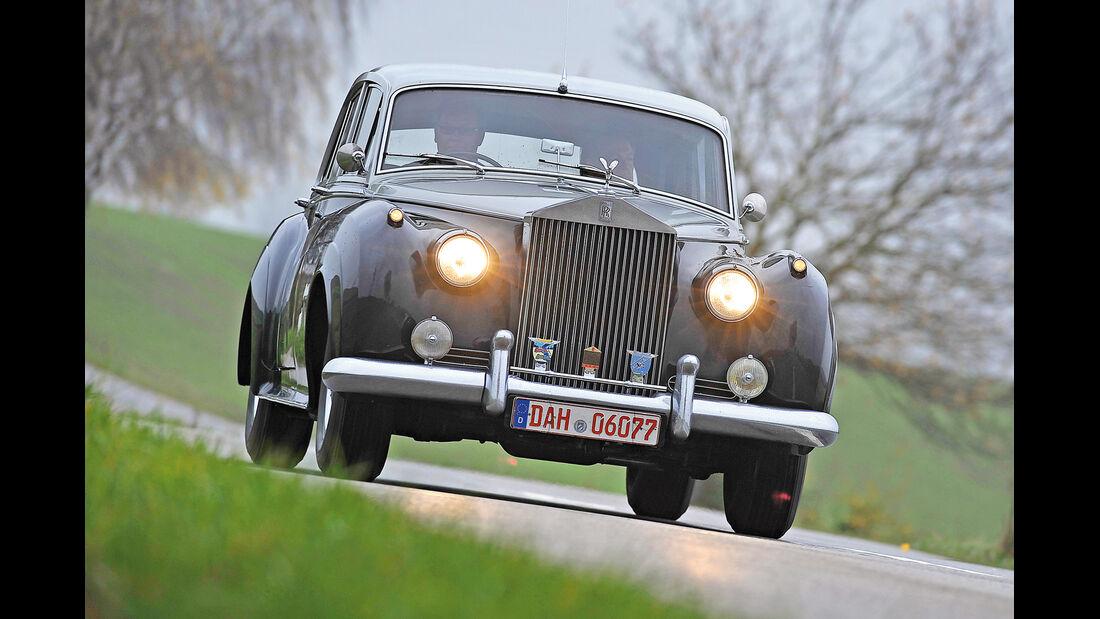 Rolls-Royce Silver Cloud II, Frontansicht