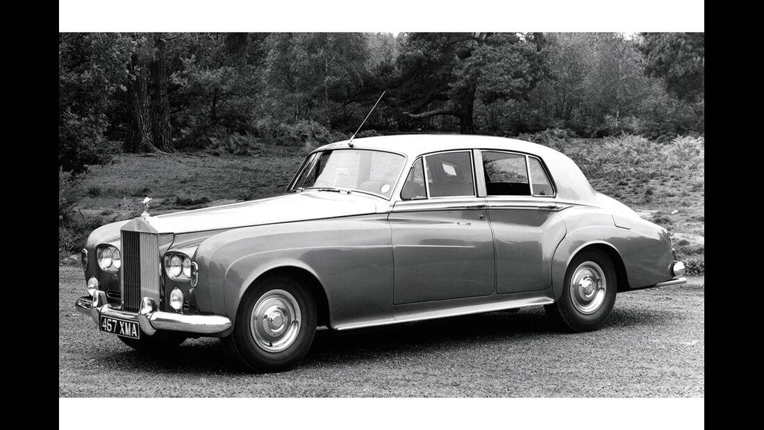 Rolls-Royce Silver Cloud III, Seitenansicht