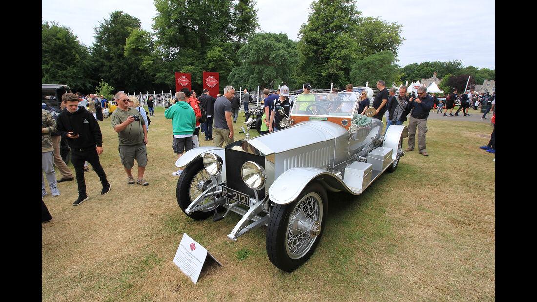 Rolls-Royce Silver Ghost London to Edinburgh The Silver Dawn