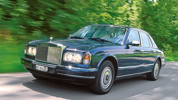 Rolls-Royce Silver Seraph, Frontansicht
