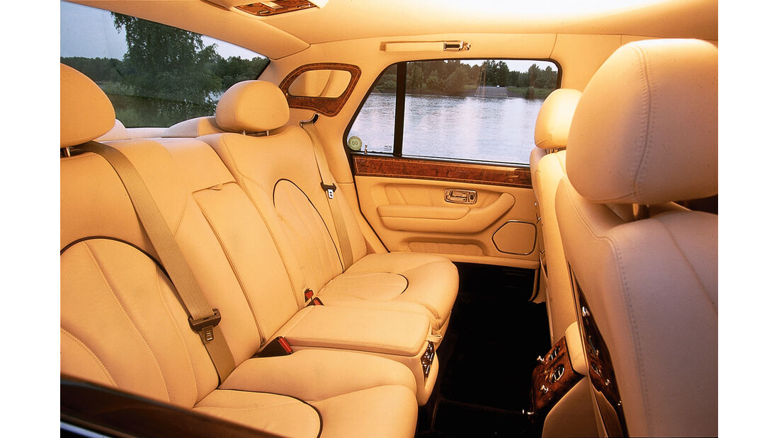 Rolls-Royce Silver Seraph, Innenraum, Interieur