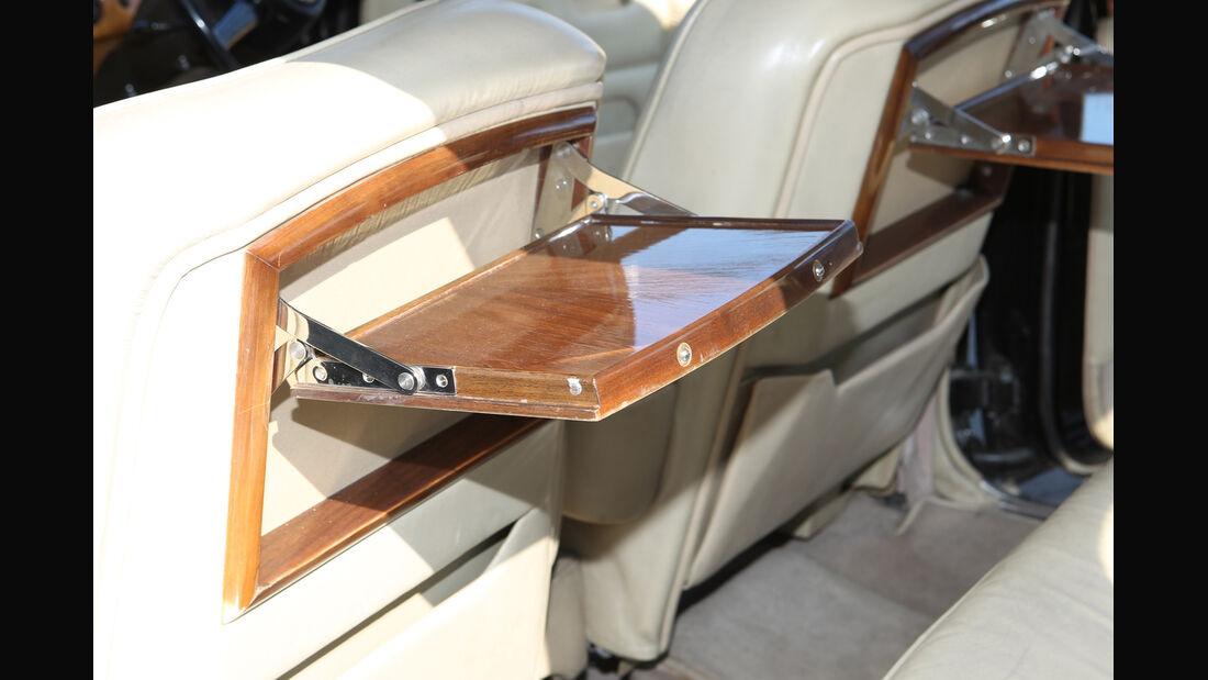 Rolls-Royce Silver Shadow, Abstelltisch, Innenraum