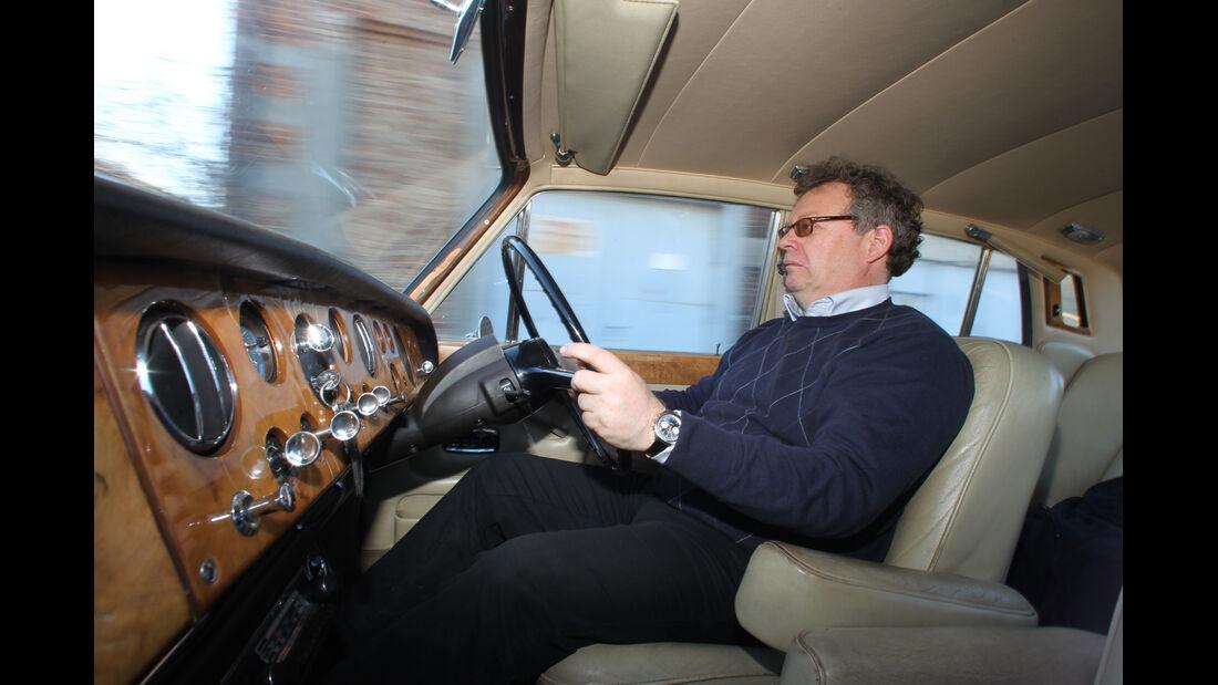 Rolls-Royce Silver Shadow, Cockpit, Alf Cremers