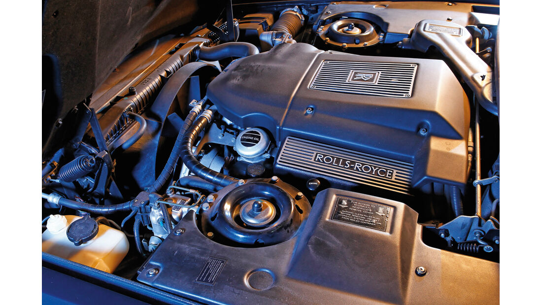 Rolls-Royce Silver Spirit, Motor
