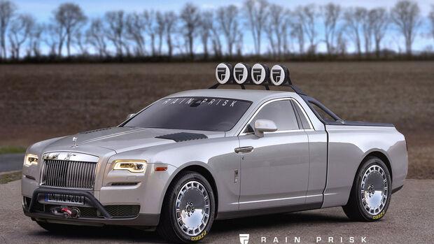 Rolls Royce Ute - Design-Konzept - Grafikkünstler Rain Prisk