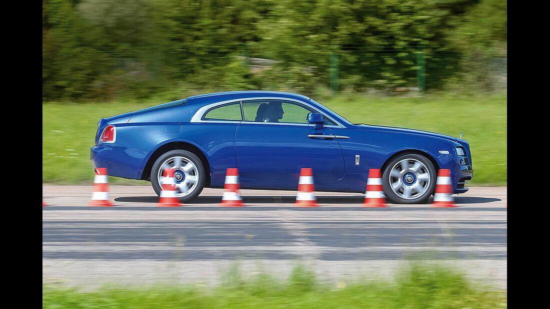 Rolls-Royce Wraith, Bremstest