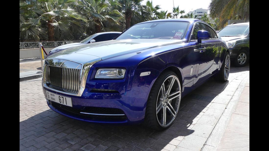 Rolls Royce Wraith - Carspotting - Abu Dhabi 2017