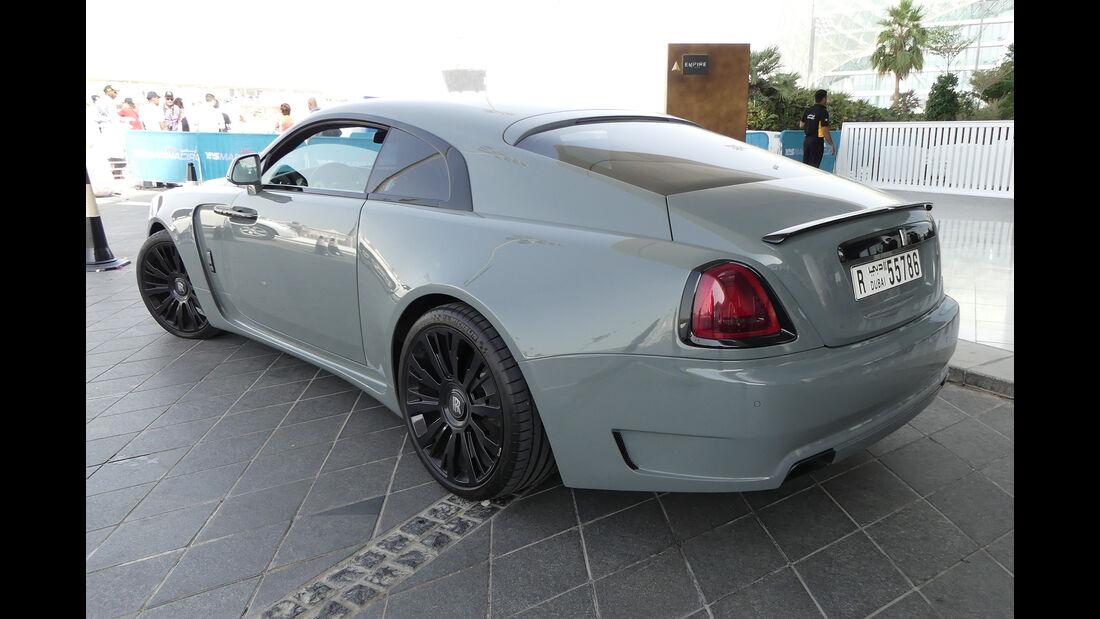 Rolls Royce Wraith - Carspotting - GP Abu Dhabi 2018