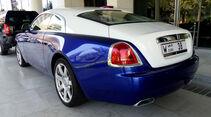 Rolls Royce Wraith - F1 Abu Dhabi 2014 - Carspotting