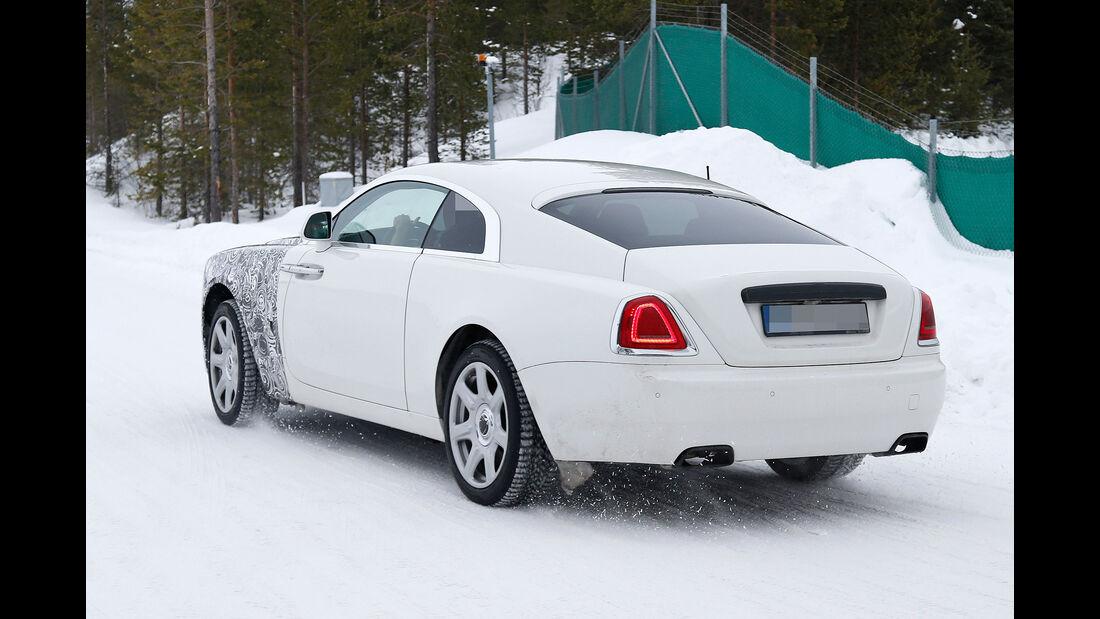Rolls-Royce Wraith Facelift Erlkönig 03/2016