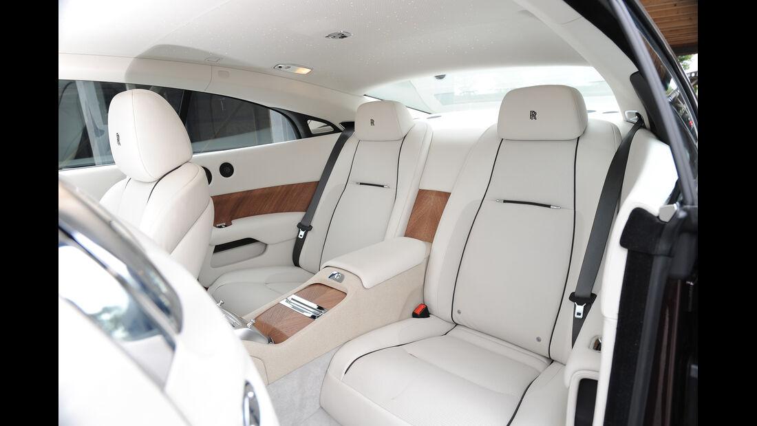 Rolls-Royce Wraith, Fond