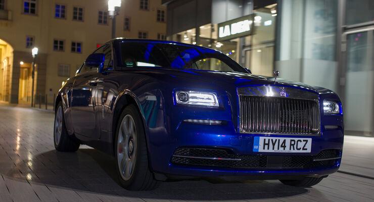 Rolls-Royce Wraith, Frontansicht