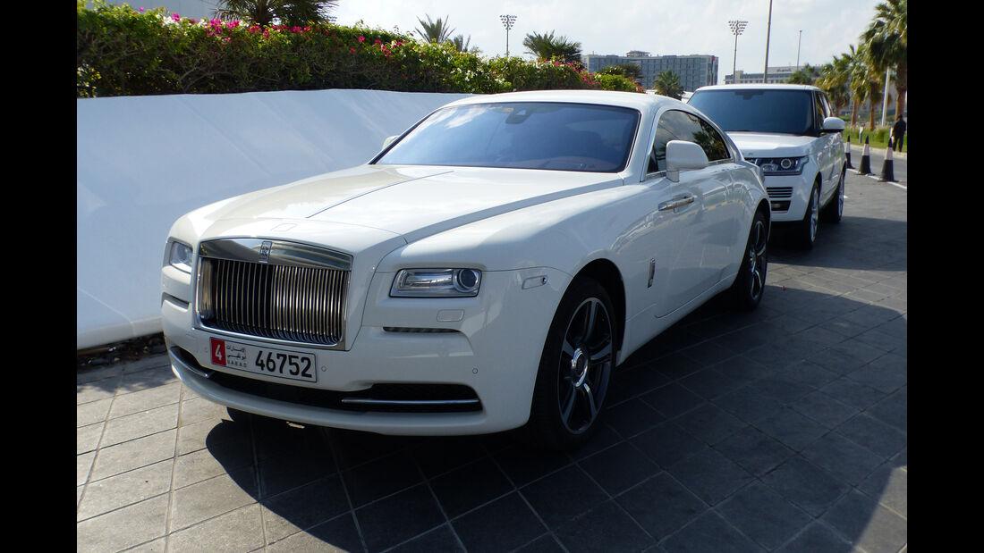 Rolls Royce Wraith - GP Abu Dhabi - Carspotting 2015