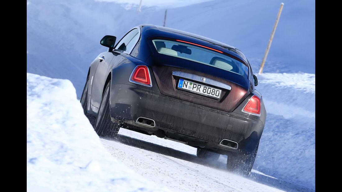Rolls-Royce Wraith, Heckansicht
