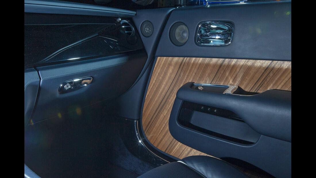 Rolls-Royce Wraith, Interieur, Holz