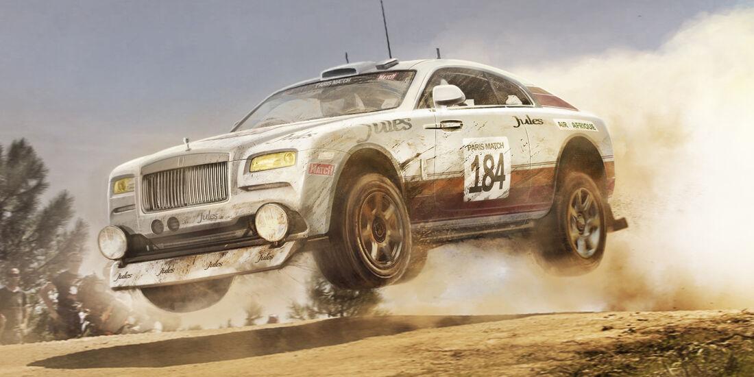 Rolls Royce Wraith - Moderne Rallye-Legenden